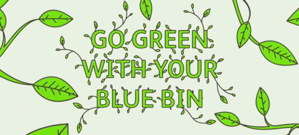 Go Green with your Blue Bin - Hackney